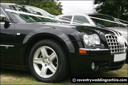 Baby Bentley Chrysler 300 side view